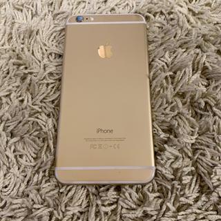 アイフォーン(iPhone)のiphone6plus 16GB  AUゴールド SIMフリーではありません(スマートフォン本体)
