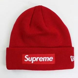 Supreme -  Supreme New Era Cap Co. 帽子  赤