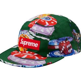 シュプリーム(Supreme)のSupreme camp cap Box Logo シュプリーム ボックスロゴ(キャップ)