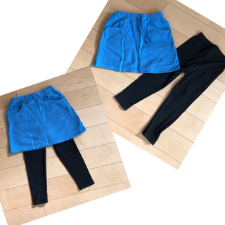 ブリーズ(BREEZE)のBREEZE スウェットスカート 100 レギンス付き(スカート)
