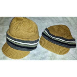 d5c300945c40d ベビーギャップ(babyGAP)の新品 babyGAP ベビーギャップ♪ニット帽子 キャップ 双子(