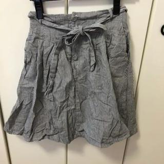 ミスティウーマン(mysty woman)のミスティウーマン エプロン風 スカート(ひざ丈スカート)