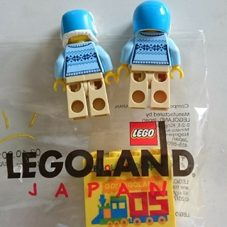 レゴ(Lego)のレゴ ミニフィグ 冬限定 レア 3体セット(知育玩具)