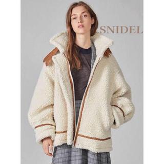 snidel - SNIDEL オーバーサイズボンバージャケット