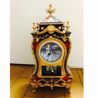 ディズニー(Disney)のシンデレラ  キャッスルクロック 置き時計(置時計)