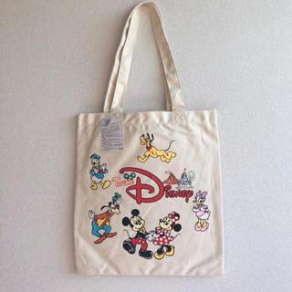 ディズニー(Disney)の新品タグ付き チームディズニー トートバッグ(トートバッグ)