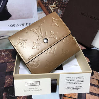 LOUIS VUITTON - 【正規品】極美品 ✨LOUIS VUITTON モノグラムマット 財布