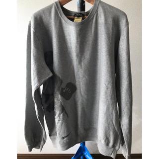 アーペーセー(A.P.C)のA.P.C シルバープリントスウェットシャツ(スウェット)