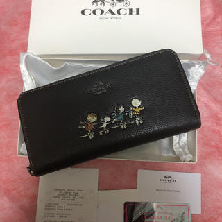 COACH - COACH 長財布 スヌーピー   コラボ 限定 レア