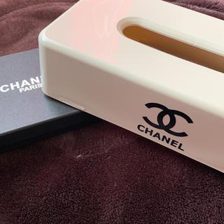 シャネル(CHANEL)の✩新品未使用✩ ティッシュケース 白(ティッシュボックス)