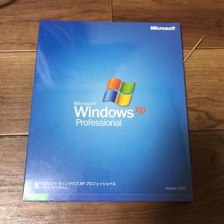 マイクロソフト(Microsoft)のWindows XP OS インストール disk(PCパーツ)