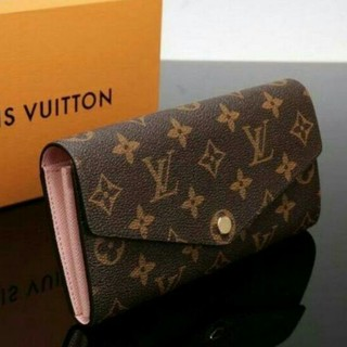 LOUIS VUITTON -  L V SARAH M62235レディースファッション長財布 高級品!