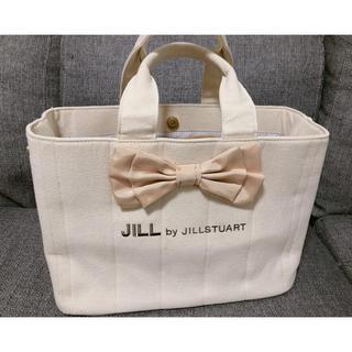 ジルバイジルスチュアート(JILL by JILLSTUART)のジルバイジルスチュアート トートバッグ リボン(トートバッグ)