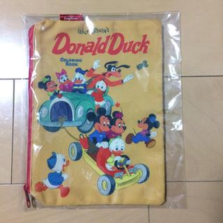 ディズニー(Disney)のディズニー ♪ドナルドダック☆ポーチ(ポーチ)