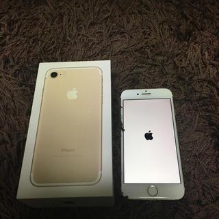 アップル(Apple)のiPhone7 ジャンク りんご ループ 32GB(スマートフォン本体)