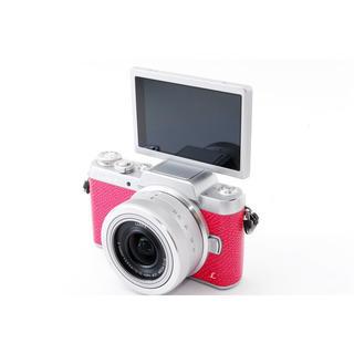 パナソニック(Panasonic)の★かわいいピンク♪Wi-Fiも自撮りも★LUMIX GF7 レンズキット(ミラーレス一眼)