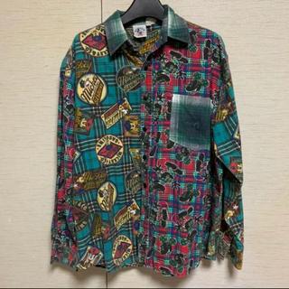 ディズニー(Disney)のプチオとチャーヤン様専用✿ヴィンテージ☆ミッキーマウス長袖シャツ(シャツ)