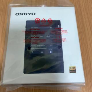 オンキヨー(ONKYO)のONKYO DP-S1 ほぼ新品(ポータブルプレーヤー)