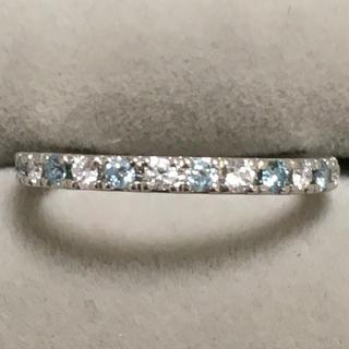 ヨンドシー(4℃)の4°C ディズニー コラボ プラチナ950 ダイヤモンド エタニティリング (リング(指輪))