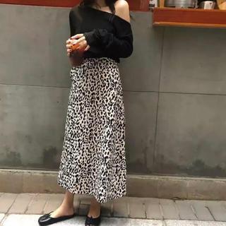ZARA - 大人気!! レオパードスカート ロング