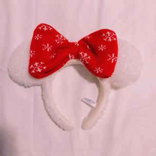 ディズニー(Disney)のディズニー♡スノースノーカチューシャ♡クリスマス(カチューシャ)