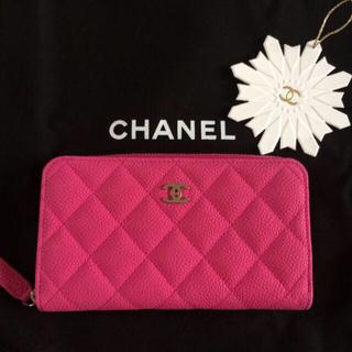 シャネル(CHANEL)のシャネル 新品ピンク 財布 CHANEL(財布)