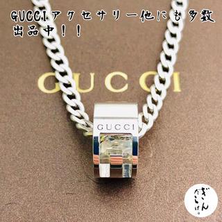 Gucci - 【未使用同様】GUCCI カットアウトG リング ネックレス シルバー925
