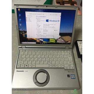 パナソニック(Panasonic)の中古美品レッツノートCF-SZ5/ i5 6300U/8G/256GSSD(ノートPC)