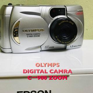 オリンパス(OLYMPUS)のOLYMPUS  Cー900 ZOOM(コンパクトデジタルカメラ)