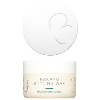 ナカノ(NAKANO)の新品⭐️ナカノ スタイリング ワックス 3F(ヘアワックス/ヘアクリーム)