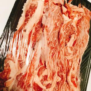 激うま!☆松坂牛上バラスライス(切り落とし) 500g お買い得品!(肉)