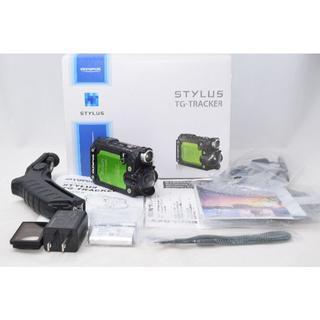 オリンパス(OLYMPUS)の展示品☆OLYMPUS オリンパス Stylus Tg-Tracker グリーン(ビデオカメラ)