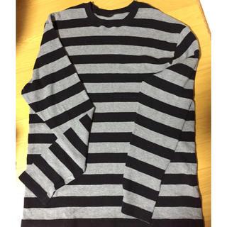 ムジルシリョウヒン(MUJI (無印良品))のdaisuke様専用無印良品のメンズボーダーカットソー(Tシャツ/カットソー(七分/長袖))