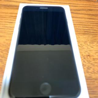 アップル(Apple)のiphone7 128GB BLACK(スマートフォン本体)
