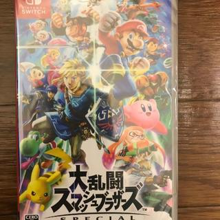 ニンテンドウ(任天堂)の新品 大乱闘スマッシュブラザーズ SPECIAL - Switch(家庭用ゲームソフト)