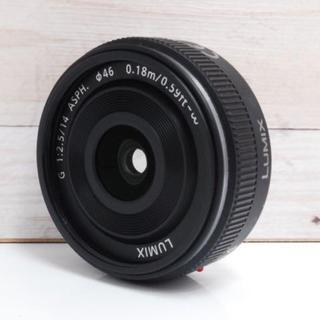 パナソニック(Panasonic)の★パンケーキレンズ★パナソニック LUMIX G 14mm F2.5 (レンズ(単焦点))