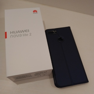 Huawei nova lite 2  SIMフリー 美品 完動品(スマートフォン本体)