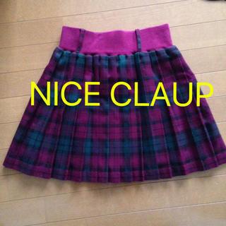 ワンアフターアナザーナイスクラップ(one after another NICE CLAUP)のNICE CLAUPプリーツスカート(ミニスカート)