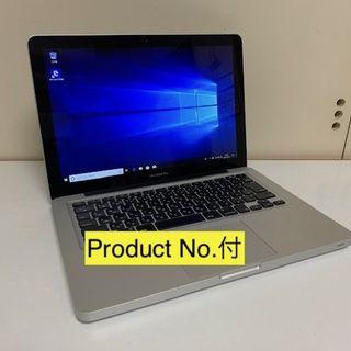 アップル(Apple)の239 MacBook Pro 13 SSHDで動画編集OK Win10付(ノートPC)