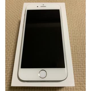 アップル(Apple)のiPhone 6 Silver 64 GB docomo アイフォン 6(スマートフォン本体)
