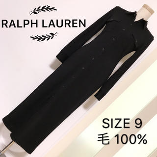 ラルフローレン(Ralph Lauren)のRALPH LAUREN  ウール素材 ロングワンピース(ロングワンピース/マキシワンピース)