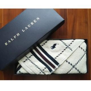 ラルフローレン(Ralph Lauren)の【新品】RALPH LAUREN HOME ハンドタオル 34×85㎝(タオル/バス用品)