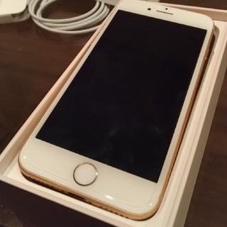 アップル(Apple)のiPhone8 gold(スマートフォン本体)