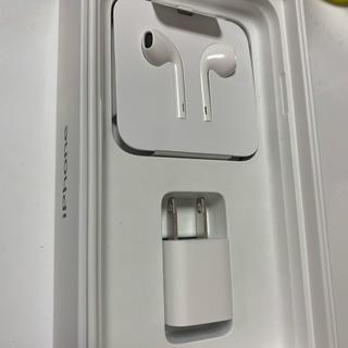 アップル(Apple)のiPhone  XR 付属 イヤホン プラグ セット(ヘッドフォン/イヤフォン)