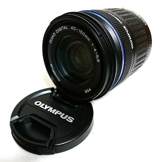 オリンパス(OLYMPUS)のOLYMPUS PEN ZUIKO DIGITAL 40-150mm 望遠レンズ(レンズ(ズーム))