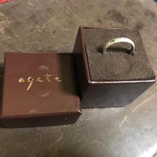 アガット(agete)のagete リング 指輪 シルバー(リング(指輪))