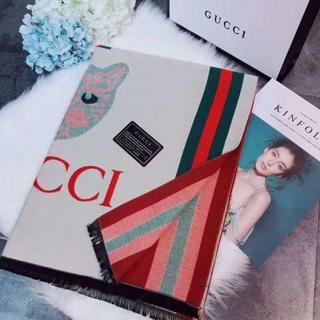 グッチ(Gucci)のGUGGI グッチ スカーフ(バンダナ/スカーフ)