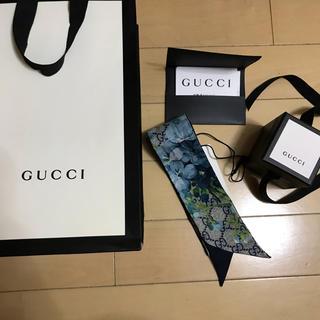 グッチ(Gucci)のGUCCI ネックボウ(バンダナ/スカーフ)
