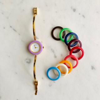 グッチ(Gucci)のGUCCI グッチ  腕時計 チェンジベゼル(腕時計)