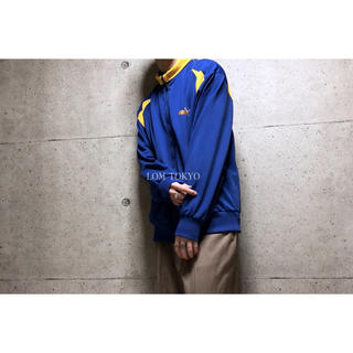 [used]'PUMA' blue × yellow track top.(ジャージ)